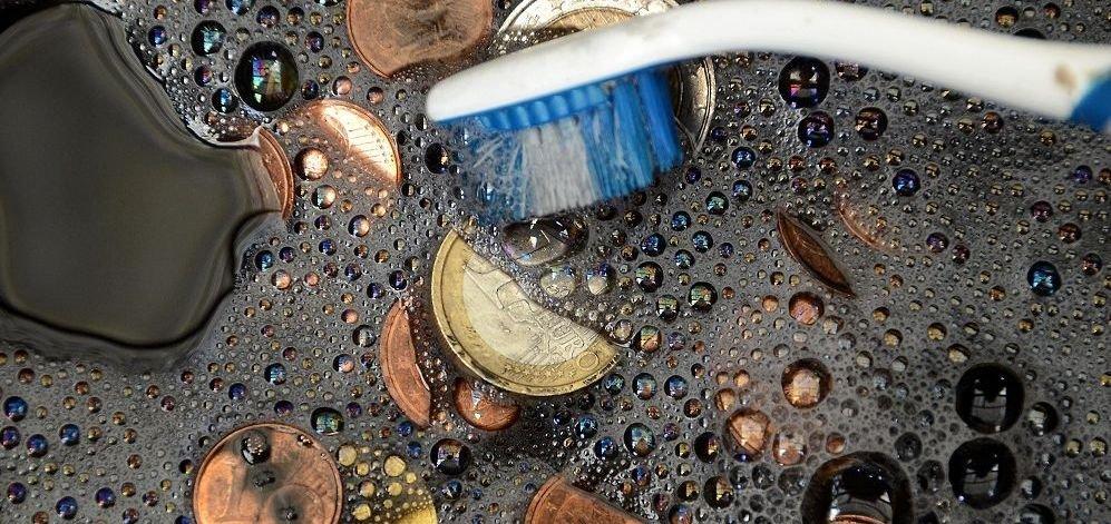 Consejos para limpiar monedas